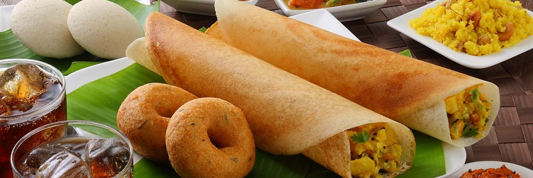 dosa indian dish