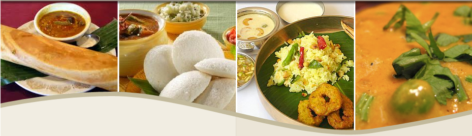 south indian foods